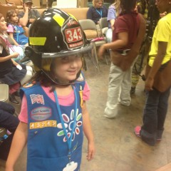 November – Fire Safety for GS Troop 43242