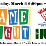 Game Night – March 8 2017