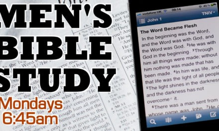Men's Devotional Group Meets Mondays