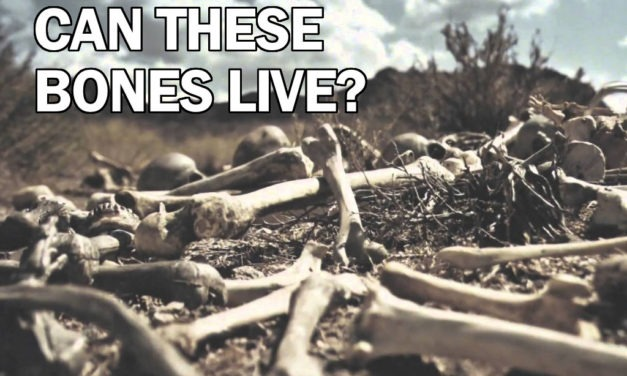 Sermon Preview – Can These Bones Live? – April 2 2017