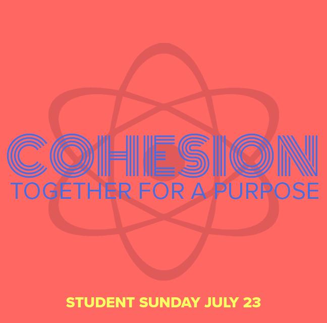 """Sunday, July 23 – """"Cohesion"""" – Youth Week 2017"""